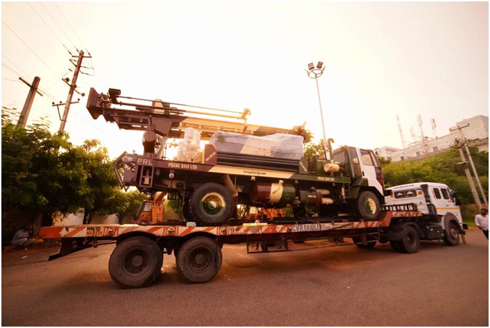 PDTHR- 200 Stallion Truck Water Well Drilling Rig