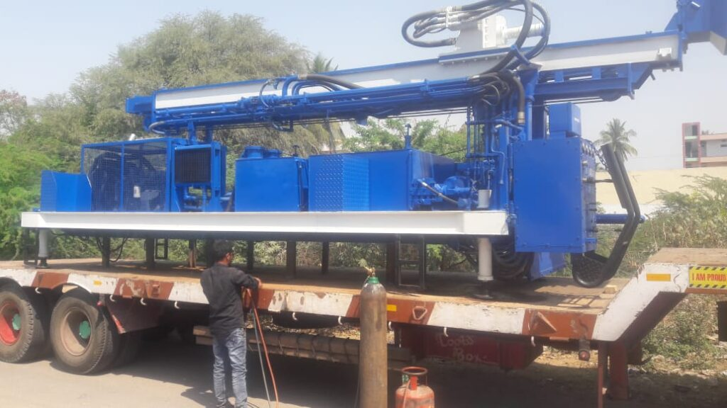PDTHR-300(Skid) Water Well Drilling Rig