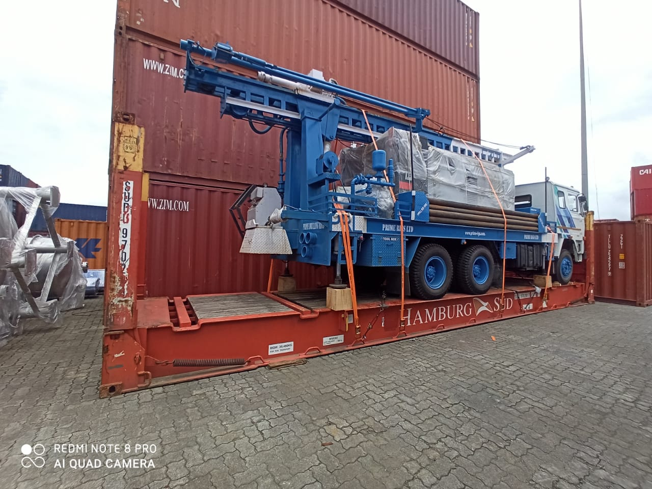 PDTHR-400 TRUCK MOUNTED DRILLING RIG