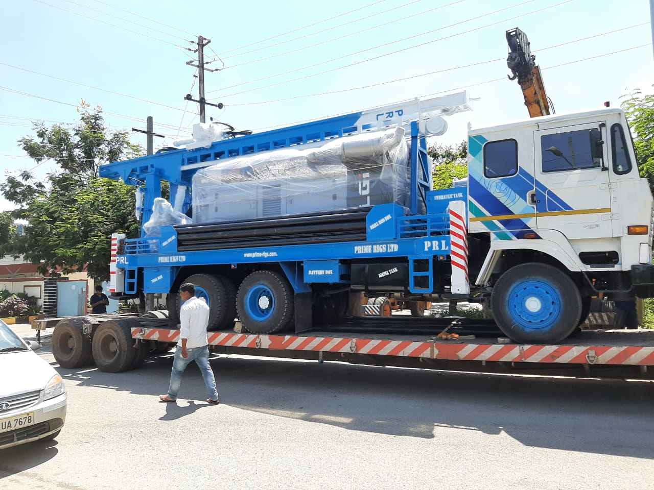 PDTHR-350 Water Well Drilling rig