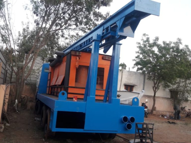 TATA TRUCK MOUNTED DRILLING RIG
