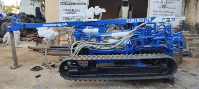 Crawler Mounted Water Well Drilling Rig