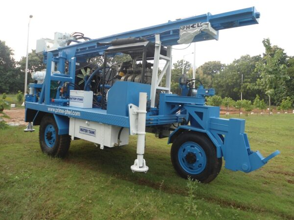 PDTHR-100 Trolley Mounted DTH cum Rotary Drilling Rigs