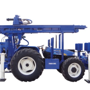 PCDTHR-150 Tractor Mounted Core Cum DTH Cum Rotary Drilling Rig