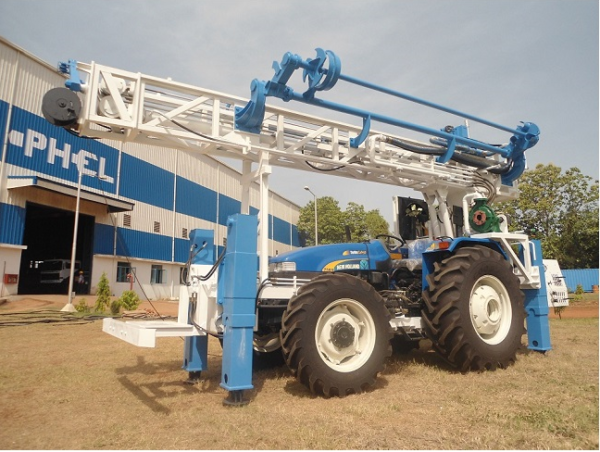 PTBW-150 Tractor mounted DTH cum Rotary Drilling Rigs